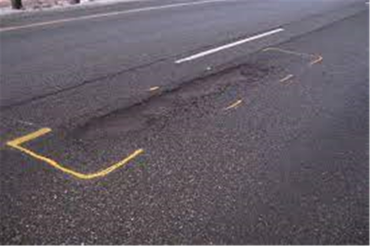 The Causes Of Road Surface Broken Plate